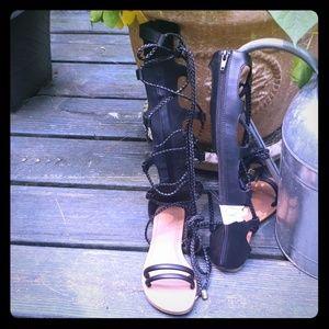 Wild diva gladiator sandals